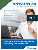 Validierte Softwarelösungen für Forschung und Produktion