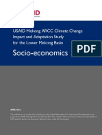 Mekong Arcc Theme Report Socioeconomics