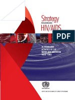 Strategy For Addressing HIV/AIDS in Programme Activities of The Water And Sanitation Trust Fund