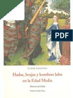 124676218 Lecouteux Claude Hadas Brujas Y Hombres Lobo en La Edad Media