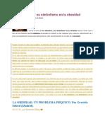 Psicoanalisis y Obesidad