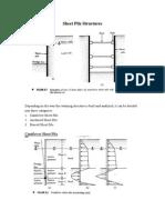 Sheet Pile Types