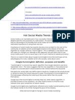 3. Hot Social Media Trends of 2013