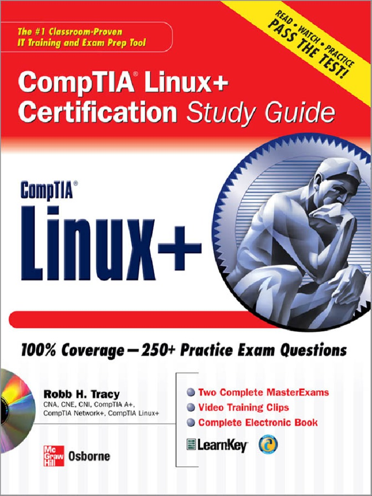 Mcgrawhill linux certification study guide comp tia software xflitez Image collections