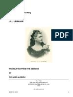 How to Sing[Meine Gesangskunst] by Lehmann, Lilli, 1848-1929