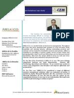 Abela Case Study - Microsoft Dynamics ERP implementation