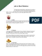 12 Powerfoods to Beat Diabetes