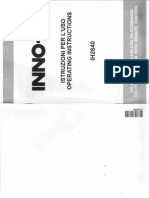 Manuale Istruzioni TV HINNO-HIT IH2840