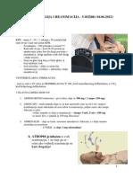 Anestezija -vježbe
