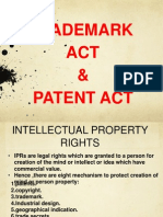 Trademark & Patent Act Fnal