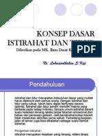 (Minggu 5) Konsep Dasar Istirahat Dan Tidur