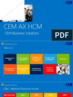CEM AX Human Capital Management