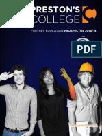 Preston's College Prospectus 2013/14