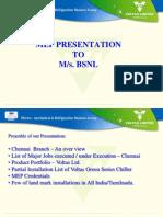 MEP Presentation - BSNL