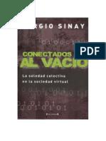 Sinay Sergio - Conectados Al Vacio