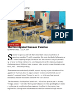 The Case Against Summer Vacation - Bridget Ansel - POLITICO Magazine