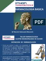 Presentación Capacitación Farmacologia Básica, Olivar 2014
