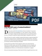 Does the GOP Need a FrankenCandidate_ - Larry J