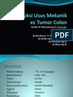 Ileus Obst Tumor Colon