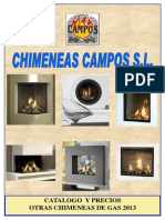 Gas - Otras Chimeneas de Gas 2013