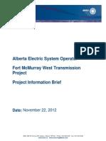 Fort Mcmurray West Transmission Brief PDF