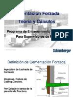 Cementación Forzada - Teoría y Cálculos