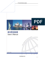 TT NVR2008 Manual Users
