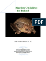 Bat Mitigation Guidelines Ireland