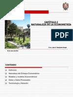 Naturaleza de La Econometría