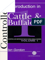 Controlled Reproduction In Cattle And Buffaloes