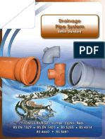 PVC Plastic Underground Drainage Pipe System