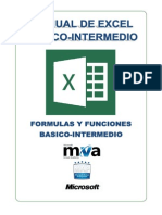 Manual Basico -InTERMEDIO de Excel 2013