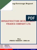 Infrastructure Development Finance Company Ltd ICR