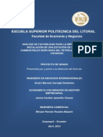 Análisis de Factibilidad Para La Implementación e Instalaci