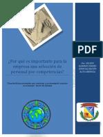 PAPER ¿Porqué es importante para la empresa una selección de personal por competencias.pdf