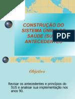 Construçao Do SUS