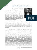 Sobre Foucault - Algumas Breves Considerações