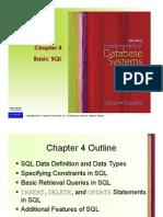 Basic SQL
