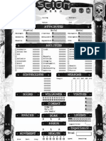 Scion - Hero - 4 Pages Sheet