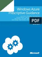 Windows Azure Prescriptive Guidance