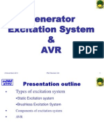 Generator Excitaion & AVR