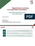 Presentation Risks Opportunities Solar