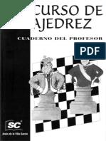 De La Villa - Curso de Ajedrez 4. Cuaderno Del Profesor