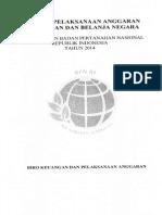 Juknis Pedoman Pelaksanaan Anggaran Dan Pendapatan Dan Belanja Negara (APBN) TA 2014