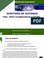 Clase_auditoria 10- Tipos y Planes de Auditoria