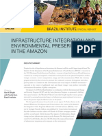 Infrastructure Integration and Environmental Preservation in the Amazon