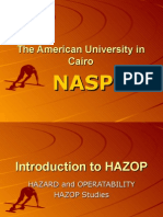 Introduction to HAZOP