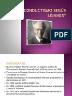 El Conductismo Según Skinner