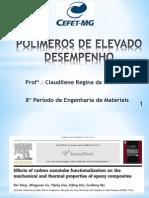 Artigo Carbono - Resina Epóxi