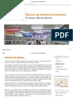 História Do Museu _ Museu de Anatomia Humana